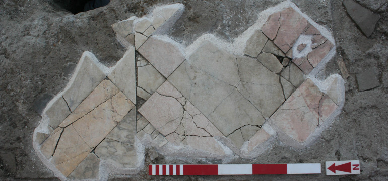 Figure 22. Opus sectile in Room 10.
